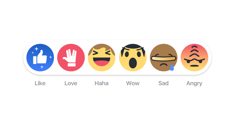 Facebook Goes Full Nerd With Star Trek Reaction Emojis