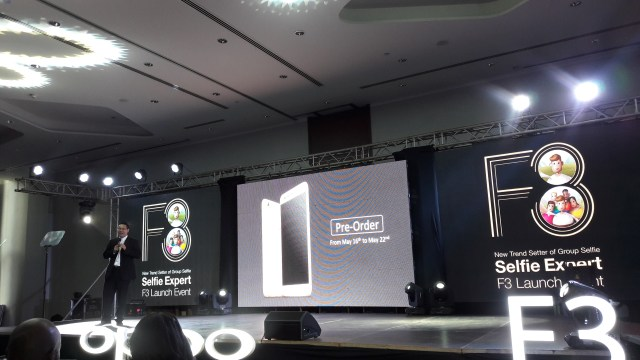 OPPO F3 Launch