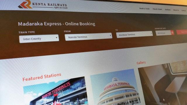 Madaraka Express Online Booking