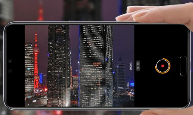 Huawei P20 night mode