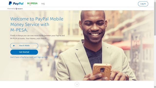 M-Pesa to PayPal 1