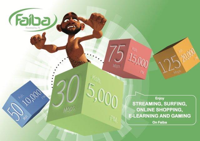 faiba new fiber bundle pricing for home business