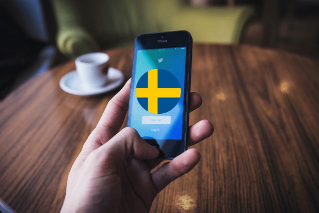 Sweden Twitter handle
