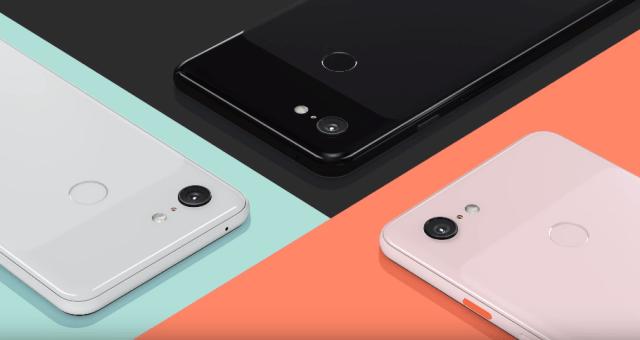 pixel 3 colours