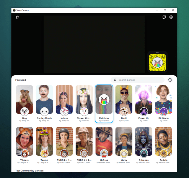 snap camera now on mac and pc