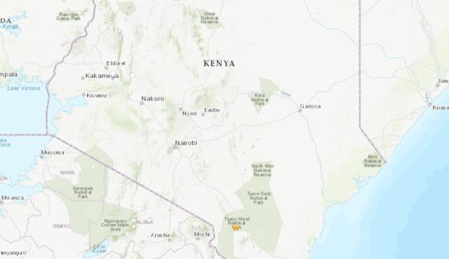 kenya earthquake social media