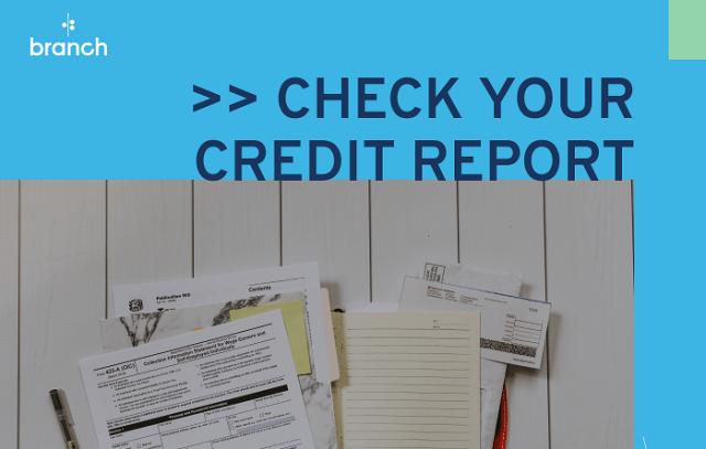 check credit report branch
