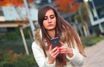 millennials growing horns texting