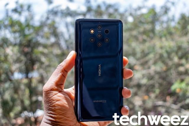 Nokia 9 Back