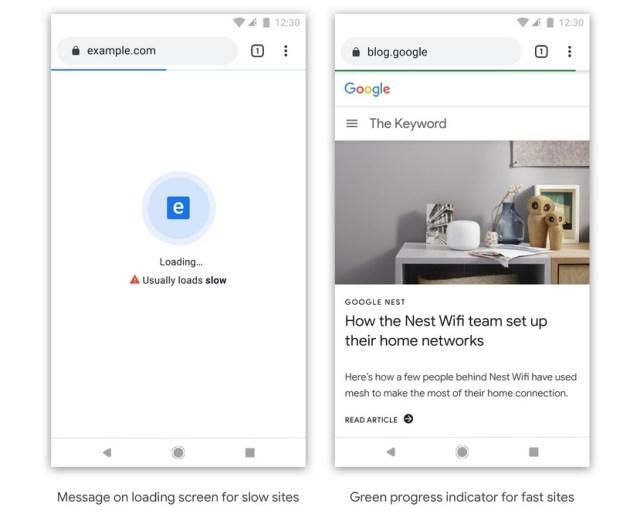 Google Chrome Badging Sytem - slow sites