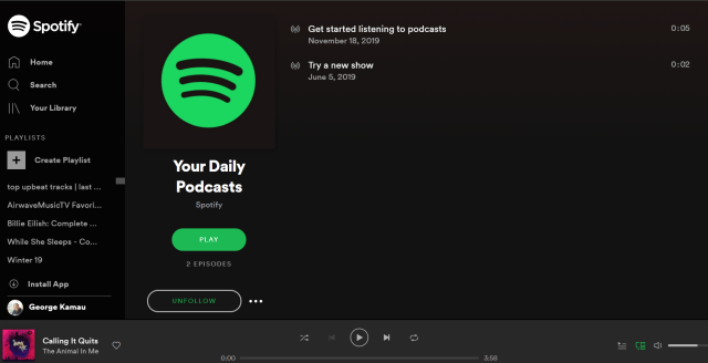 Spotify Your Daily Podcast