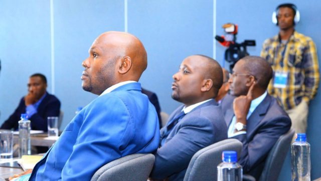 Delegates at the CFO roundtable follow proceedings