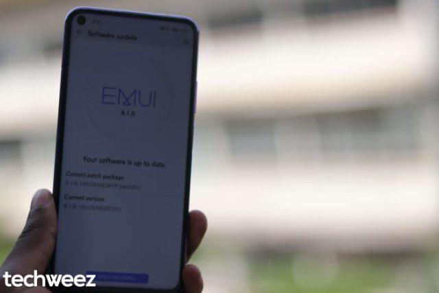 Huawei Nova 5T EMUI