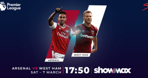arsenal vs westham showmax