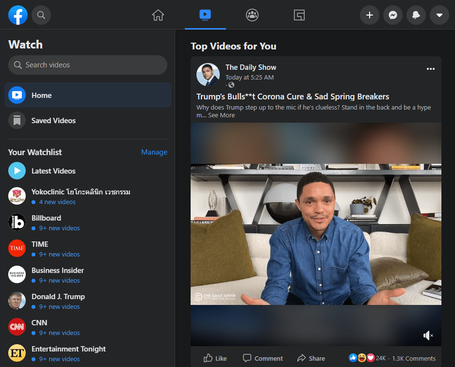 Facebook dark mode now available for Desktop users