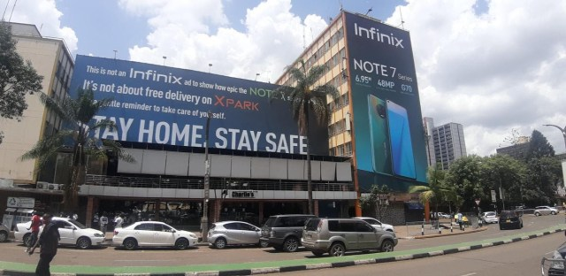 Infinix Stay At Home Campaign