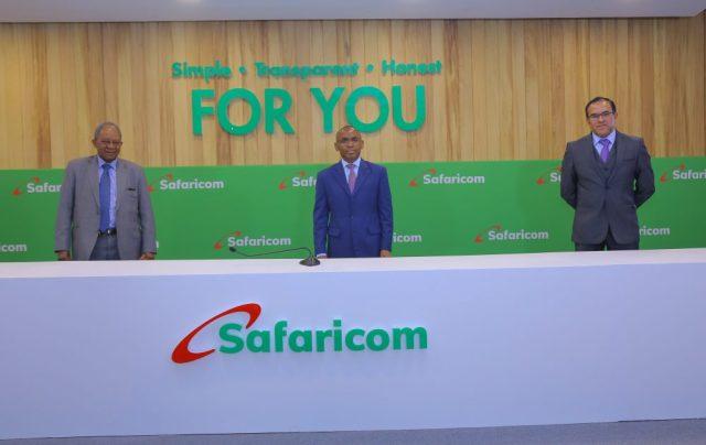 Safaricom CEO COO and Chairman