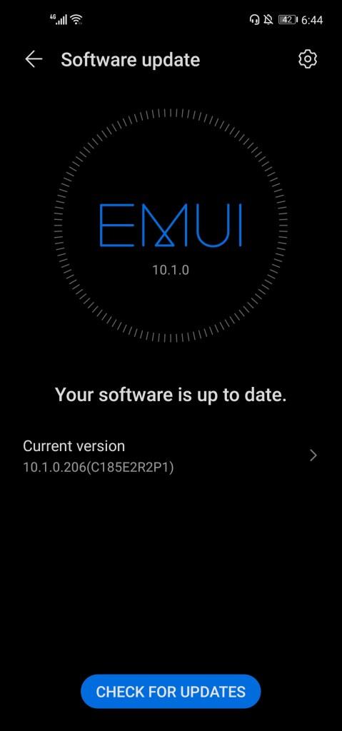EMUI 10.1 update Huawei Nova 7i