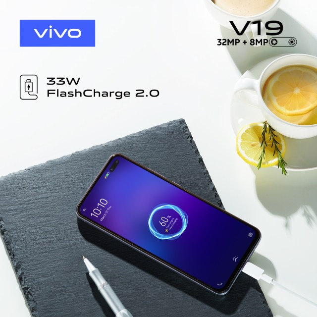 vivo V19 Flash Charge 2