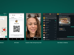 whatsapp video calls animated stikcers qr codes dark mode desktop