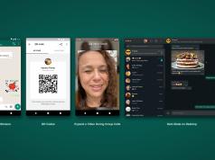 whatsapp video calls animated stikcers qr codes dark mode desktop