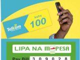 Buy Telkom airtime via mpesa