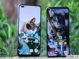 OPPO Reno4(left) VS OPPO Reno5(right)