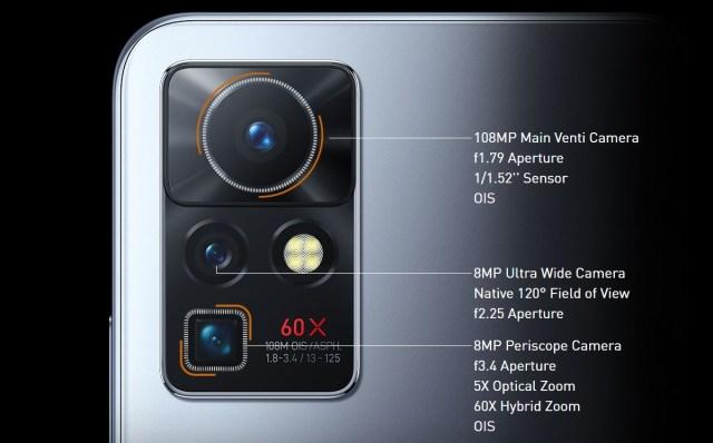 Infinix Zero X Pro Camera Setup