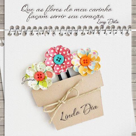 Flores de carinho e amor