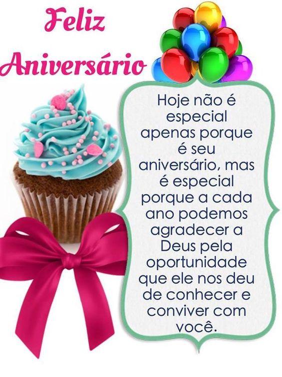 Hoje não é especial apenas porque é seu aniversário. Feliz aniversário!
