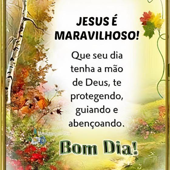 Jesus é maravilhoso