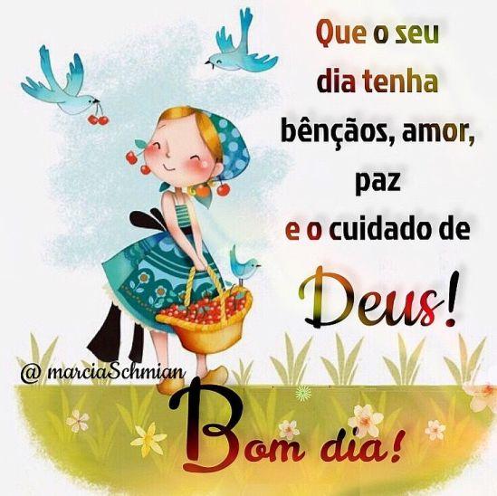 Bom dia no cuidado de Deus