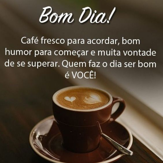 Café fresco para acordar