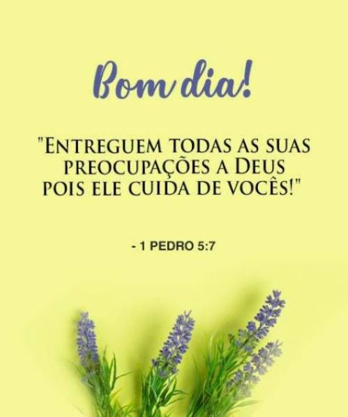 Entregue os teus caminhos ao Senhor!