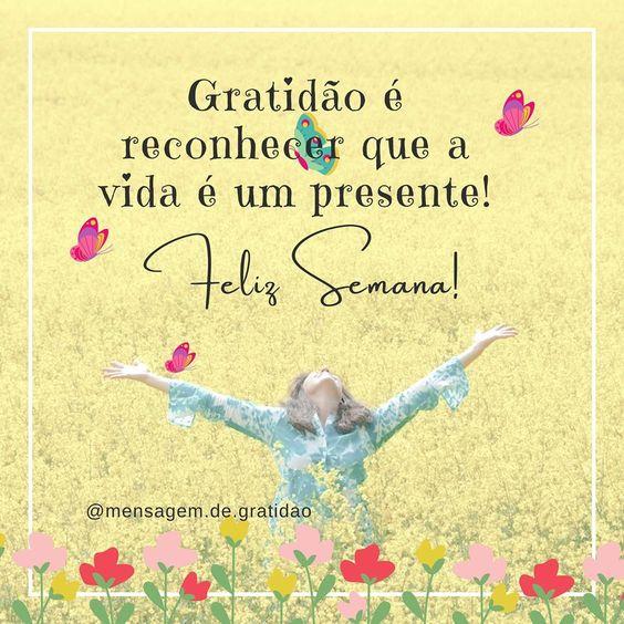 A vida é um presente