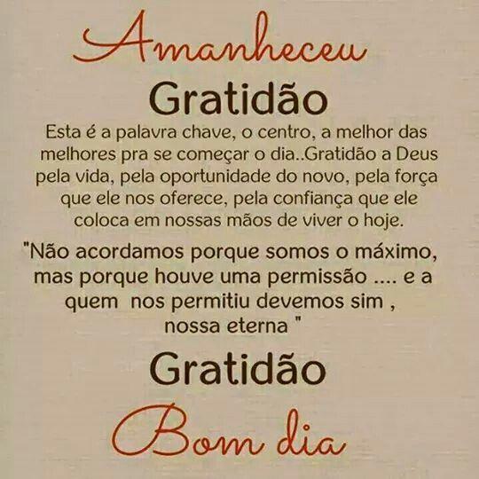 Gratidão a Deus