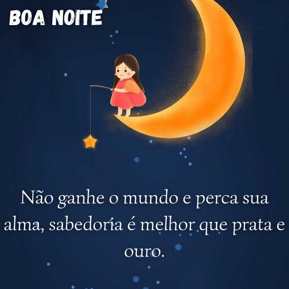 Boa Noite com sabedoria