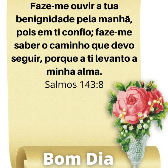 Salmos 143:8
