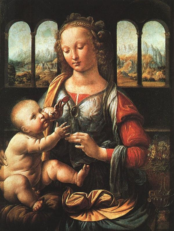 Imagem da pintura de Leonardo da Vinci.