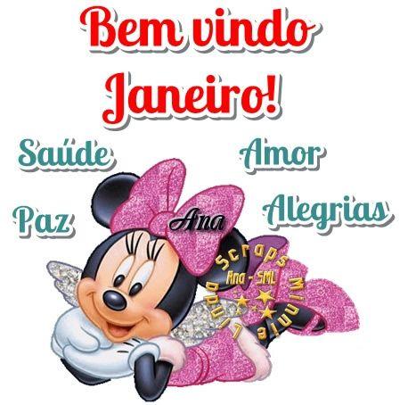 Bem-vindo Janeiro com alegria
