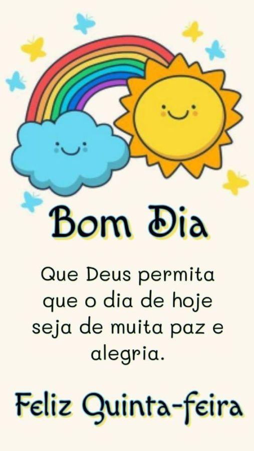 Bom dia Quinta-Feira com Deus