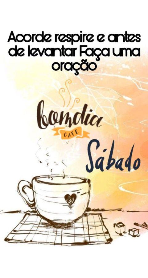 bom dia sábado com café