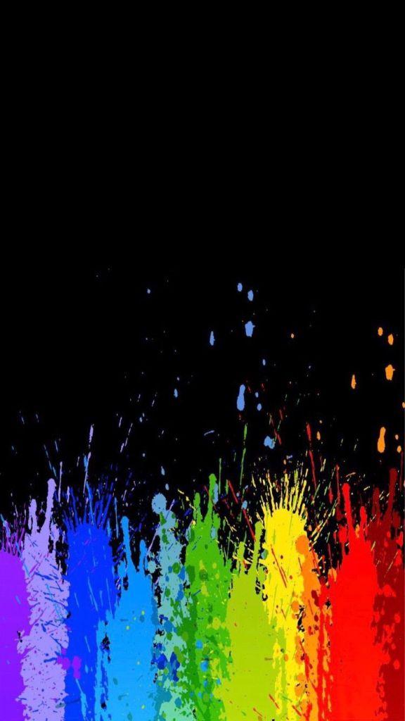 ele faz o arco-iris colorido