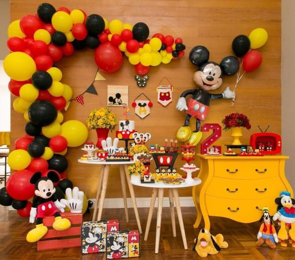 Mickey mouse decoração infantil.