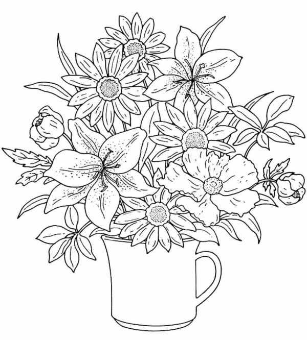 Imagem de flores tumblr