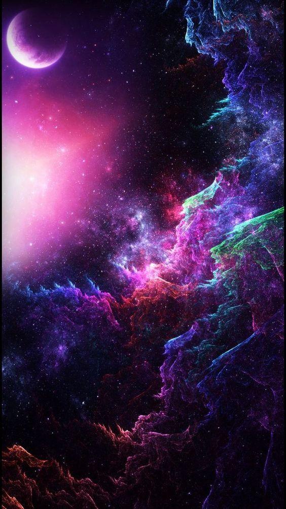 se realmente é assim galáxia