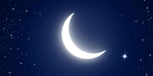 Imagem perfeita da lua.