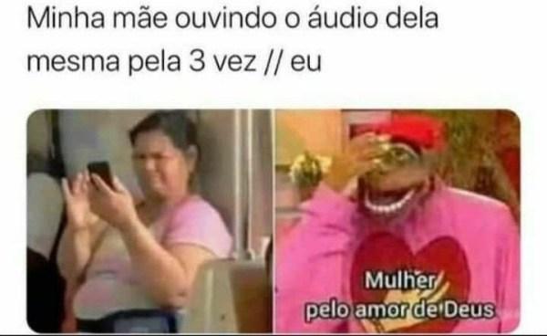 meme audio de mainha