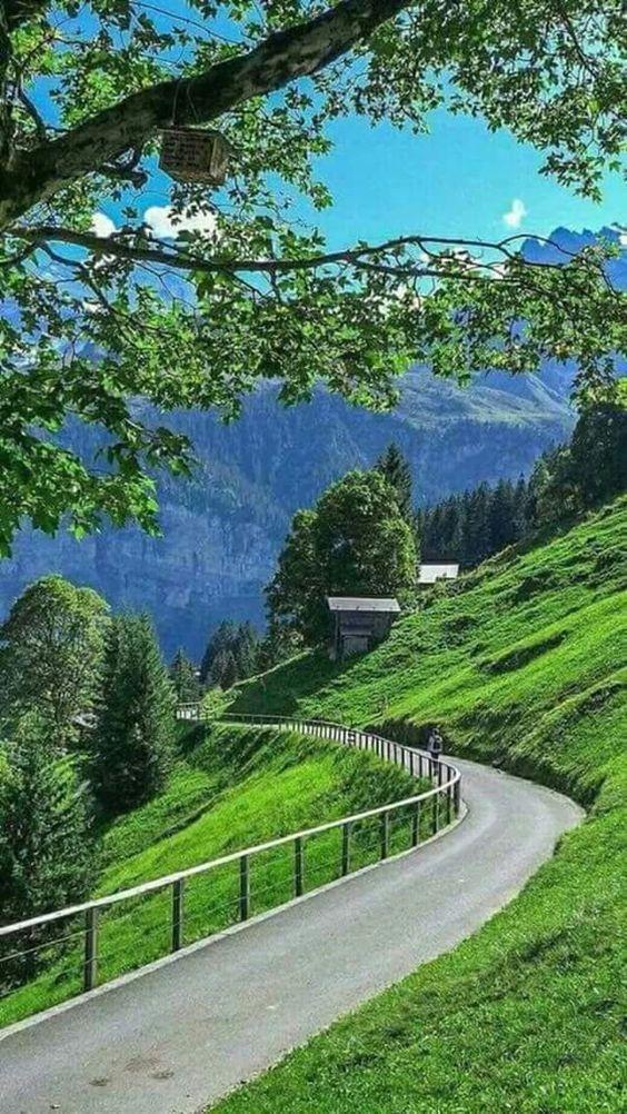 Linda e perfeita paisagem