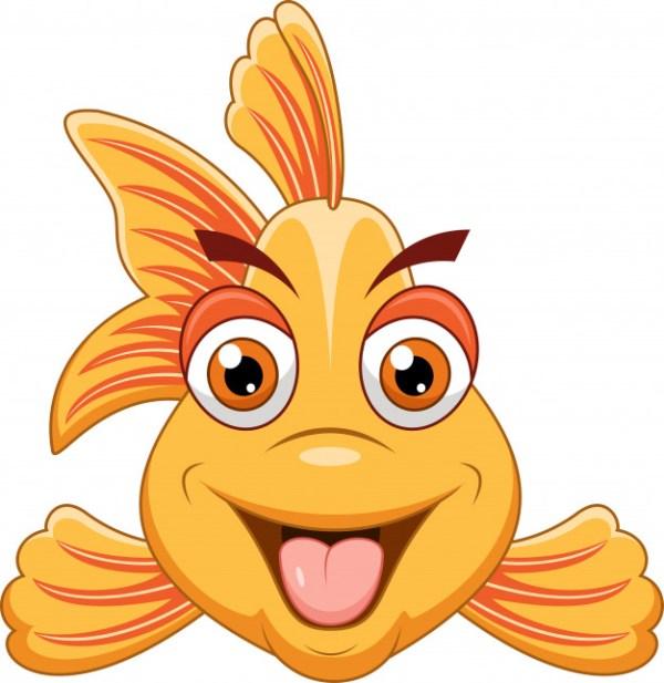 peixe para você desenhar.